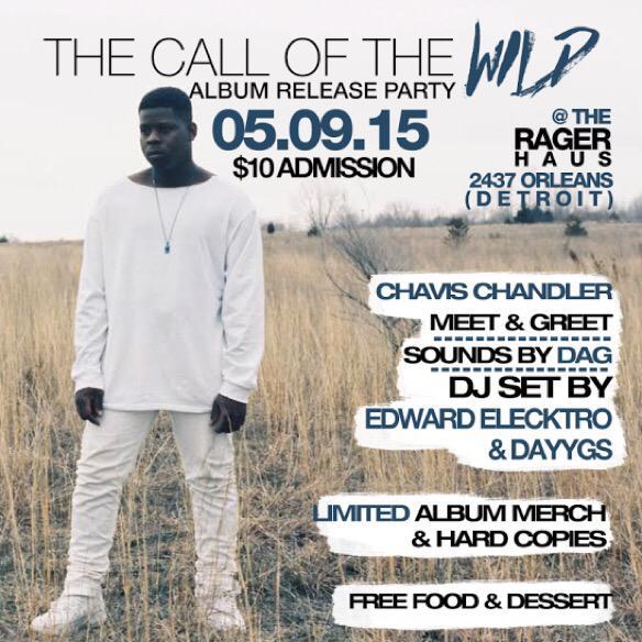 Chavis Chandler The Call of The Wild album