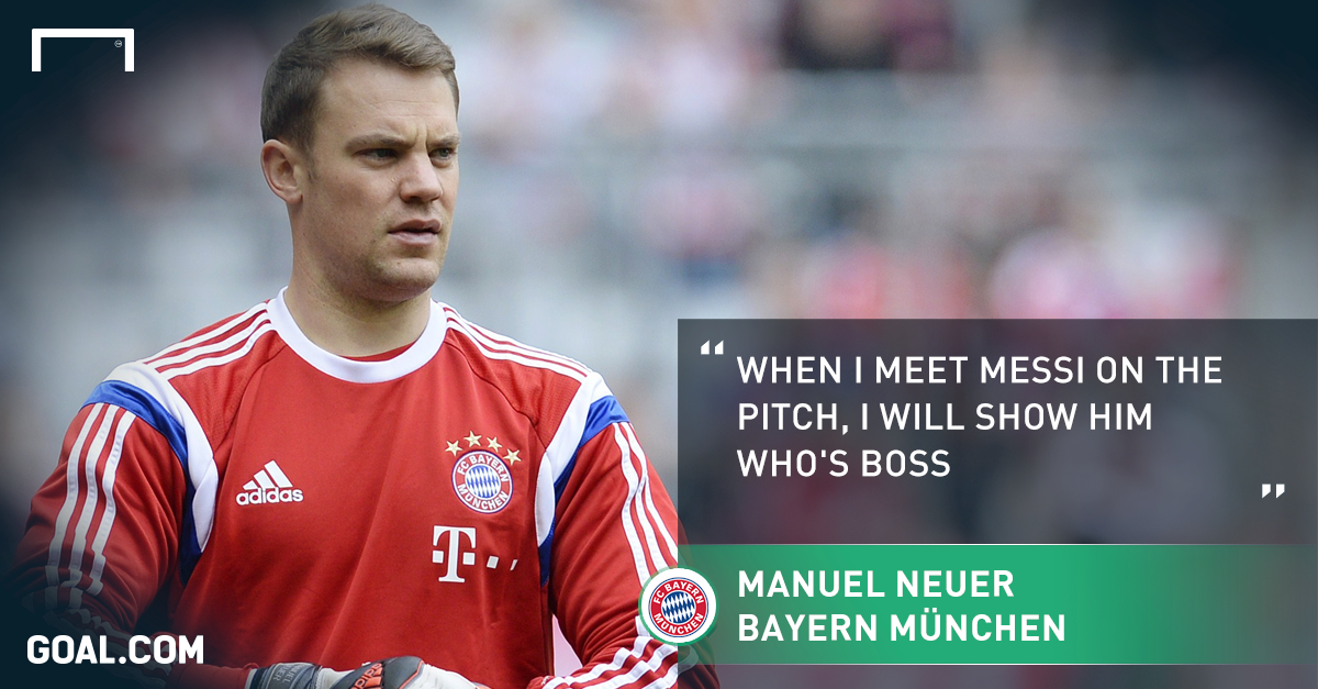 Remember when Manuel Neuer said this about Messi? #BarcaBayern   http://t.co/zEiFhHxPVP http://t.co/k8Rj02Hm7J