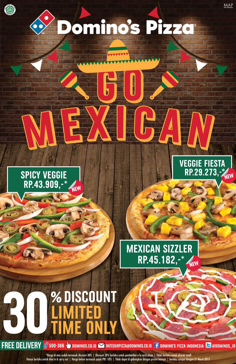 Domino S Pizza Id On Twitter Diskon 30 For New Pizza The