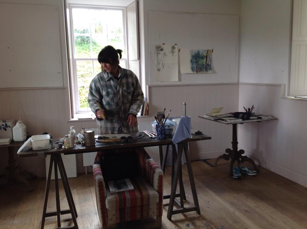 "Judith Green on Twitter: ""Working hard! @ #Dumfries-house.org.uk ..."
