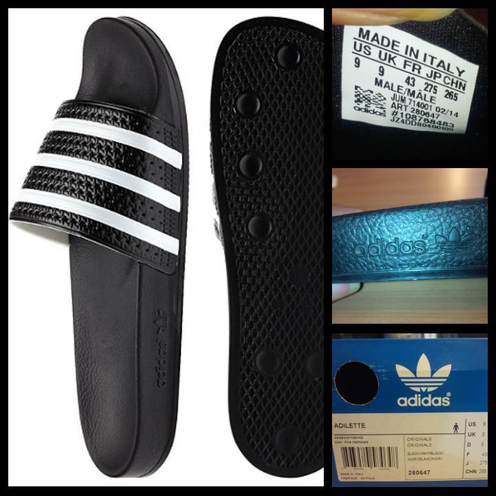 e3fae304c2cd Jual Sandal Adidas Adilette Original USA made in Italy di lapak Yoga ... adidas  adilette italy