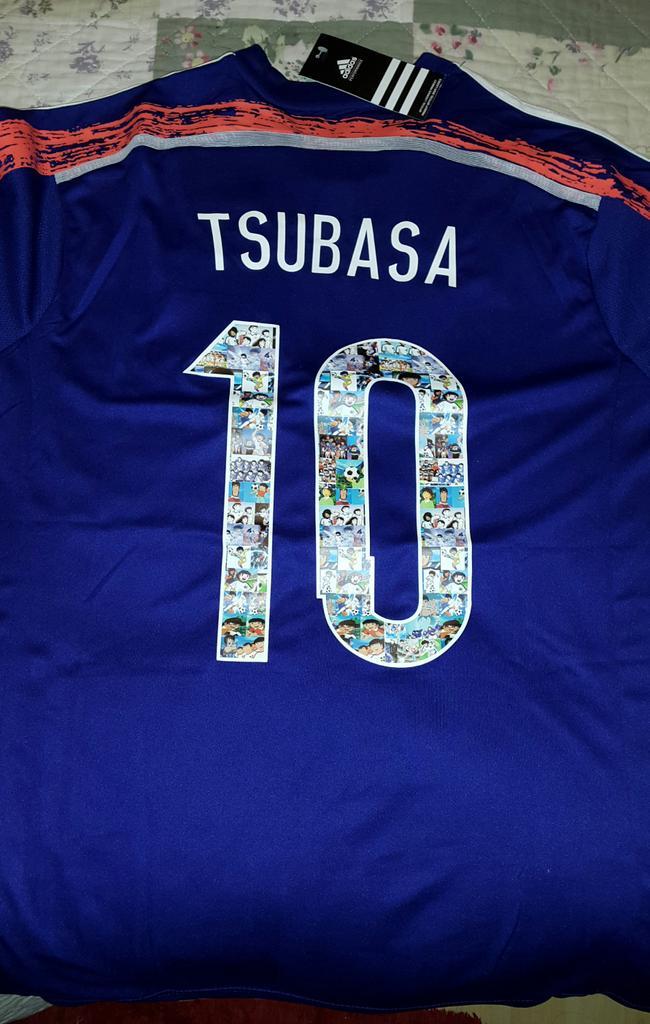camiseta de japon tsubasa
