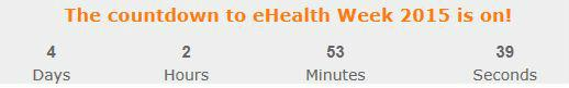 Only 4 days to go! What will you do at #eHW15? Final programme: http://t.co/b2n2aHY8Fp #eHealth #mHealth http://t.co/I9qTa9NL2F