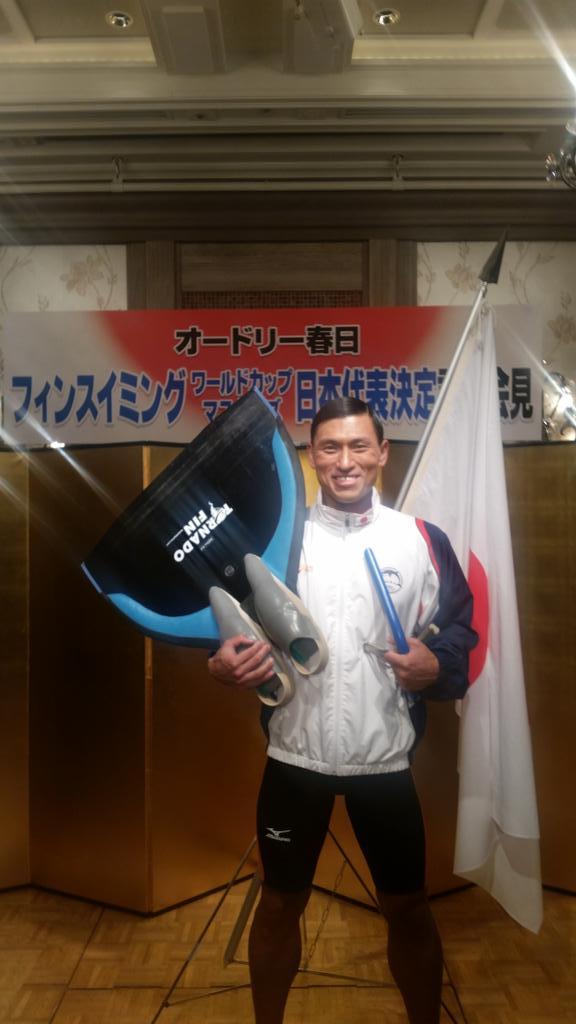 日本代表春日! http://t.co/4Os2L08Bli