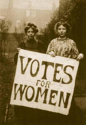 They risked their lives so we could vote today http://t.co/4t8xV8ooE3 Let's do it, girls ✖
