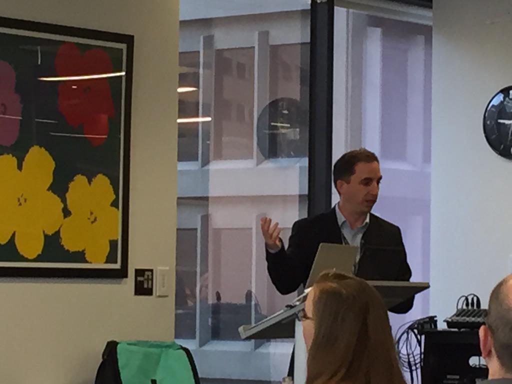 """Ethos of #jboye15 = challenge your colleagues"" per @janusboye Storytelling as he does so well! http://t.co/b4qcV4BGCu"