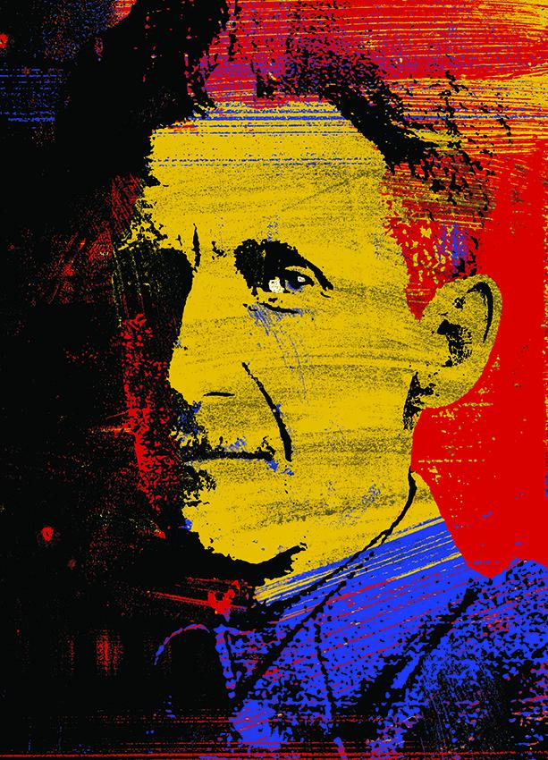 """Politics is a mass of lies, evasions, folly, hatred and schizophrenia""—#GeorgeOrwell  http://t.co/v2tBaYCr1h #GE2015 http://t.co/e43eUfiJJ3"