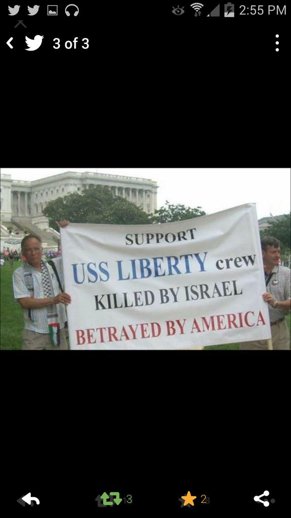 @LilMissPrepper @AndrewGatward but what happens when israel messes with usa like in #ussliberty? What do u do then? http://t.co/ScL7ULpcl4