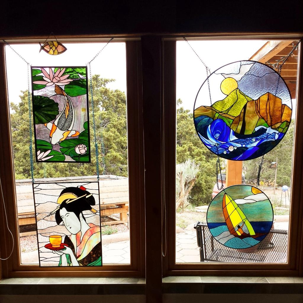 Check out my windows for sale in the Eldorado Studio Tour, Studio #15, in Santa Fe, New Mexico! Sat & Sun 10am - 5pm http://t.co/Mf7SXBB75x