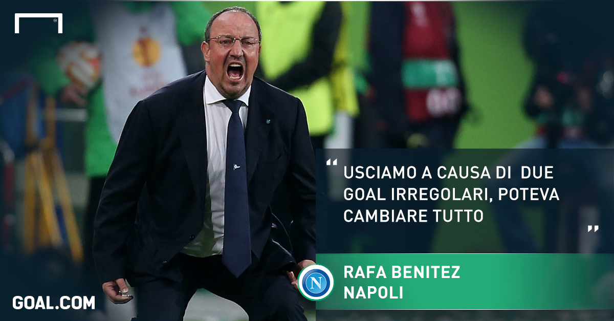 La protesta di Benitez a Goal.com
