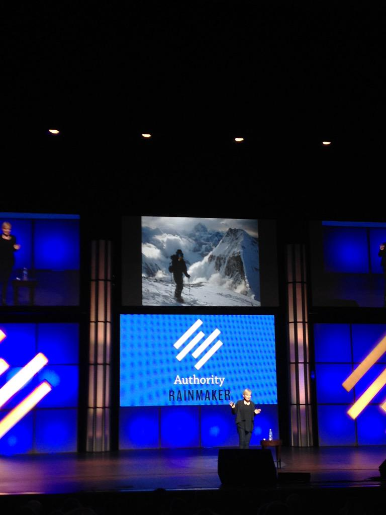 "Best stat from #authority2015: ""you are more likely to summit Everest than click on a banner ad."" @bernadettejiwa http://t.co/G2gghnjbx3"