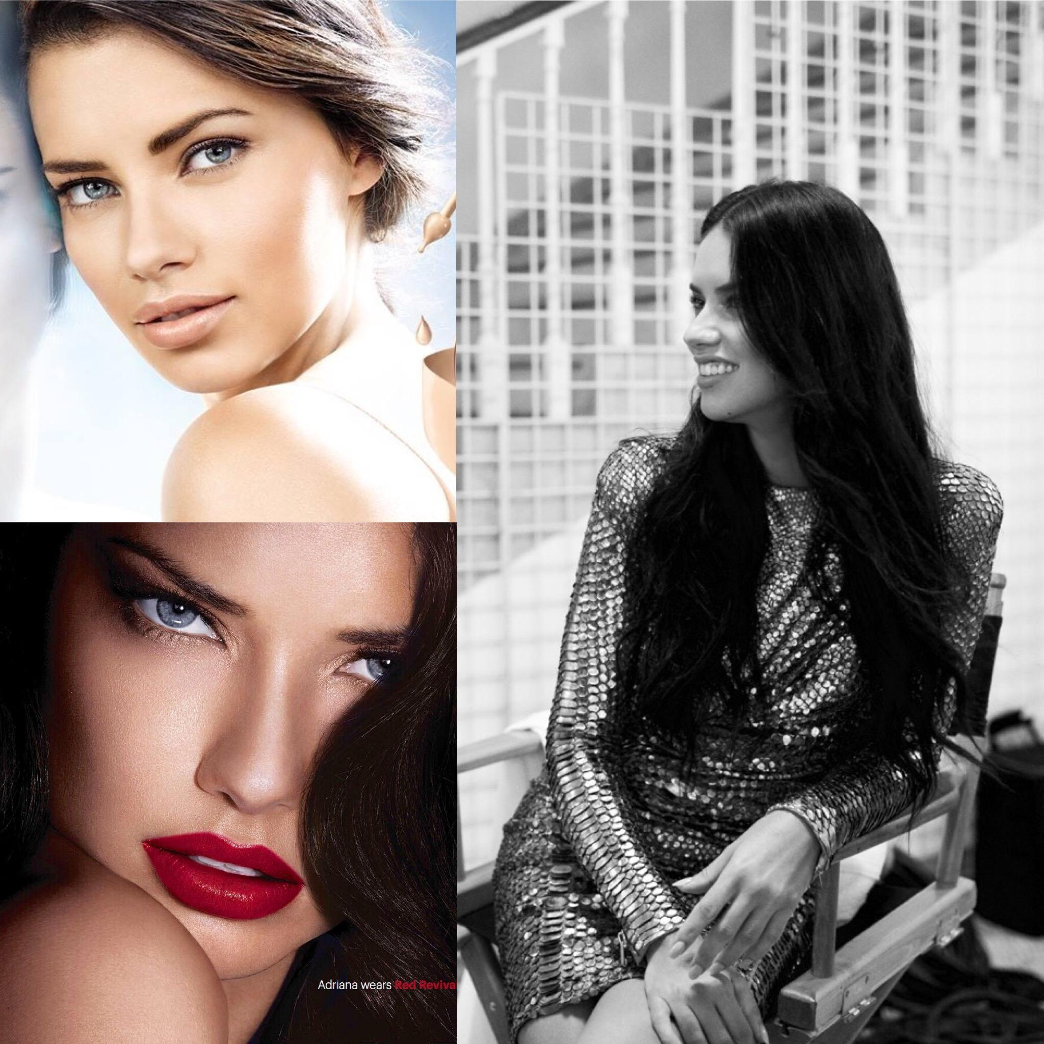 "Adriana Lima: Adriana Lima On Twitter: ""Happy Birthday @Maybelline! You"
