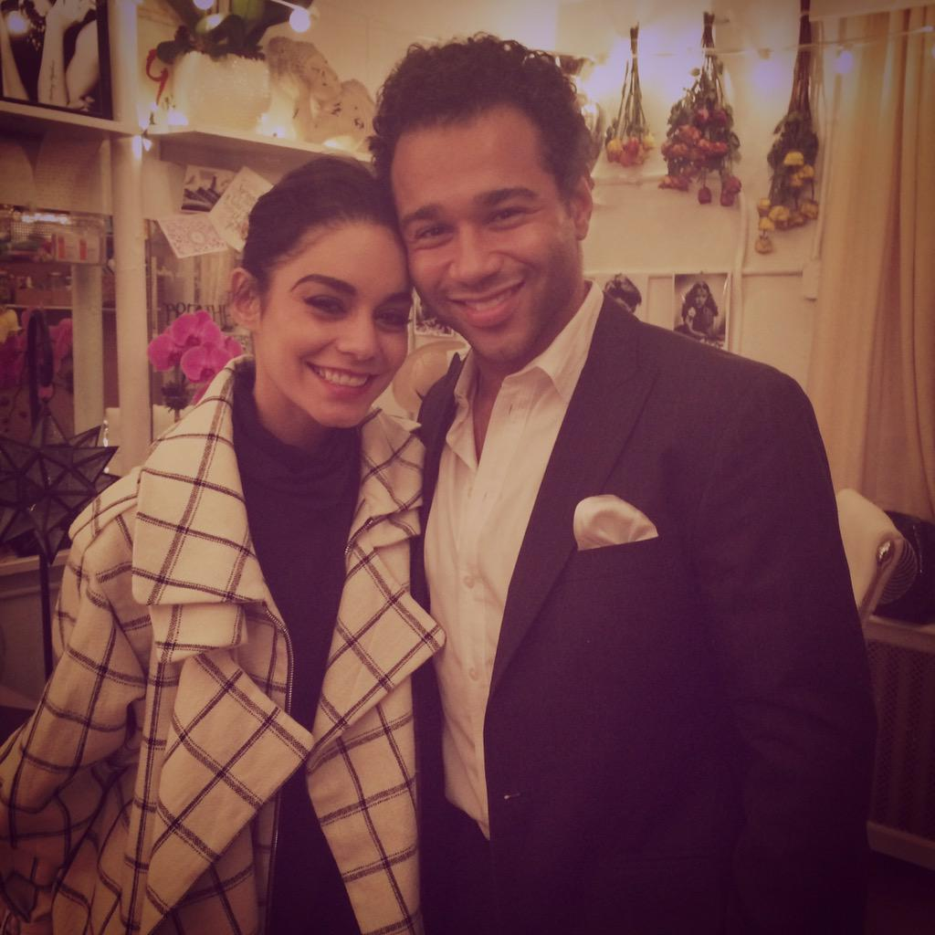 So proud of this talented girl! Got to see @VanessaHudgens in @gigionbroadway last night! Great night! http://t.co/KDPUBj6PUI