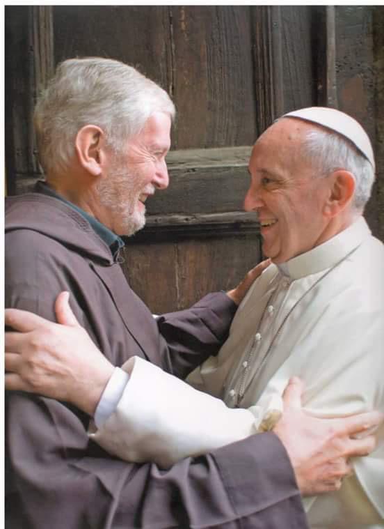 Frei Mauro e Papa Francisco