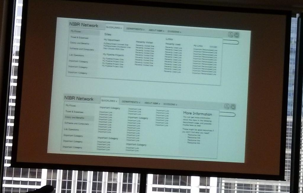 Unique approach to #intranet #quicklinks from Marek Nowakowski #jboye15 personalized and subject categories. http://t.co/gDpogOok7d