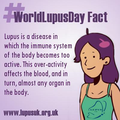 Today is #WorldLupusDay. Please help to raise awareness of #lupus by retweeting. #WorldLupusDay Fact 1 http://t.co/pK2ND6HB1R