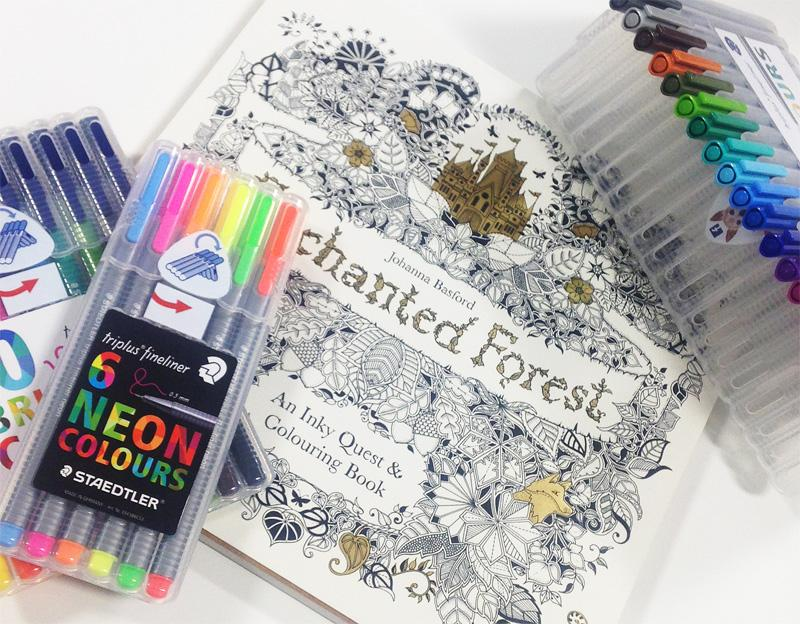 WHSmith On Twitter Weve Teamed Up With Staedtler Johannabasford For Our Latest Comp Send Us Your Best Colouring Efforts To Enter