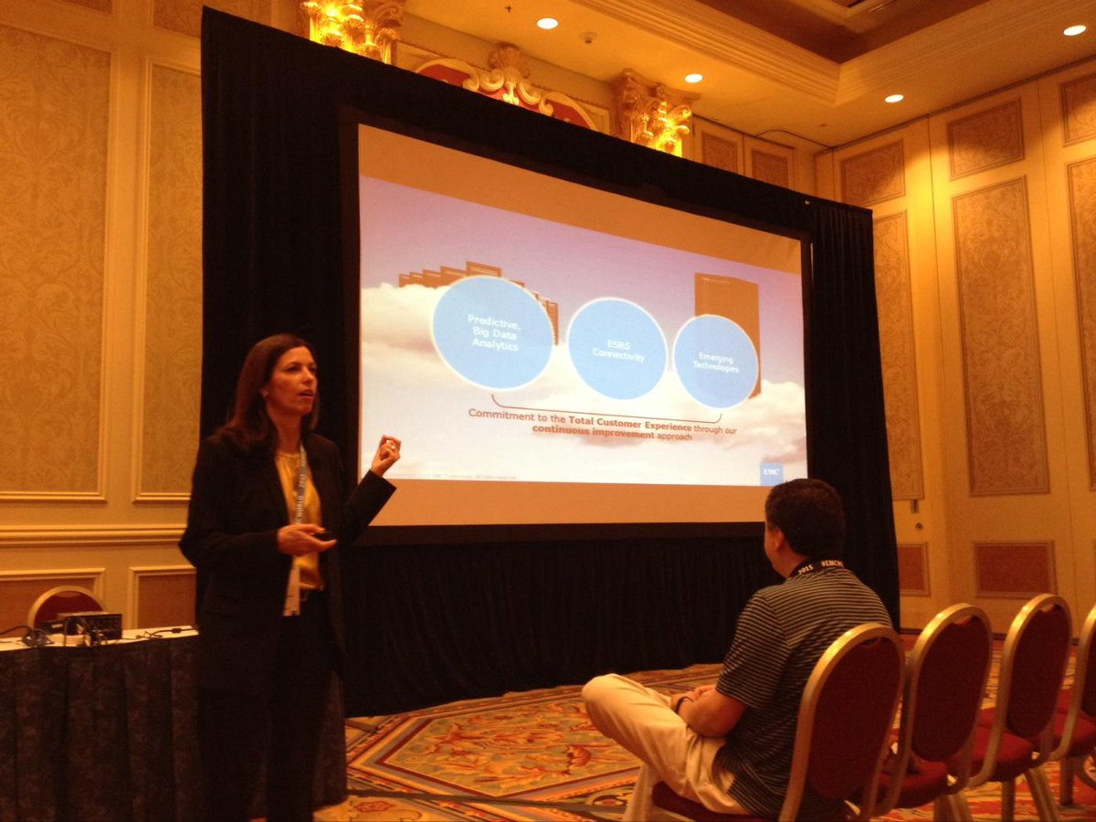 "@marycaykosten ""data analytics can help you sleep better & have better #customerservice experience"" #EMCWORLD #cx http://t.co/s9uLswMyCb"