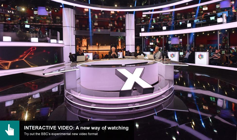 BBC election studio 2015
