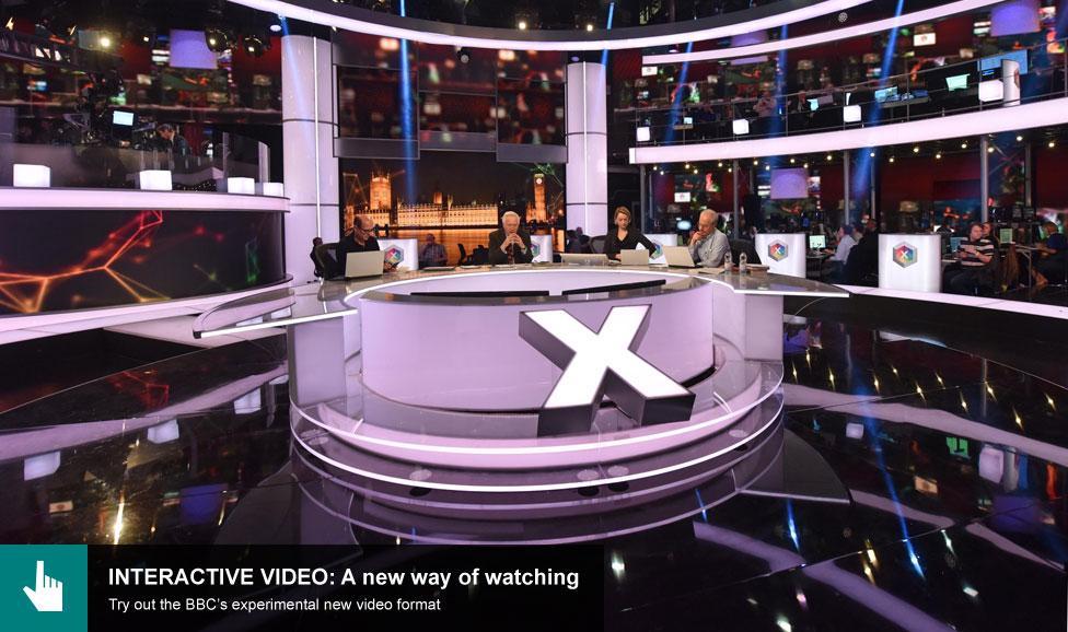BBC election studio 2015