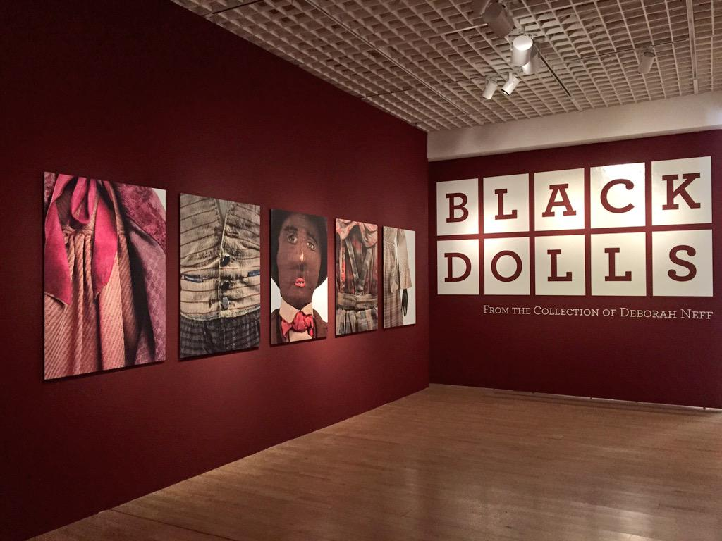 You really should check out the Black Dolls exhibit @MingeiMuseum in @BalboaPark. It is a fascinating exhibit. http://t.co/pjvLp2mVfW