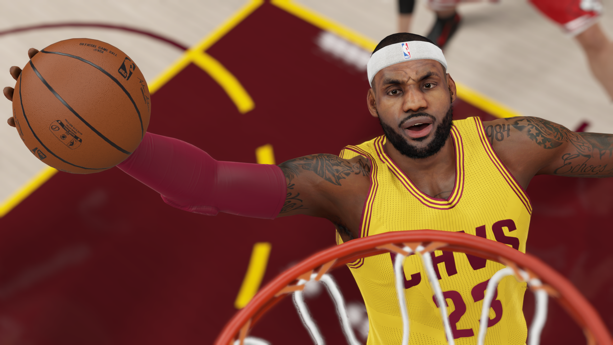 7b0022d64e37 KingJames brought back the headband last night   so did we in the latest   NBA2K15 roster update.  TheHeadBandIsBackpic.twitter.com 602gHVptFX