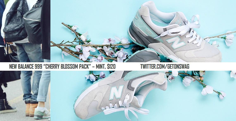 new balance 999 cherry blossom