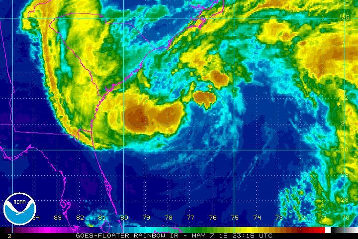 Subtropical Storm Ana Threatens Carolinas With Floods, Winds