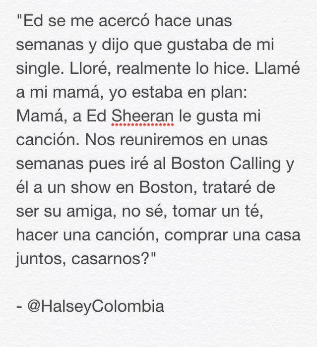 Ed Sheeran Colombia on Twitter: \