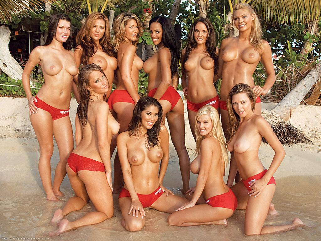 Hot girl topless video