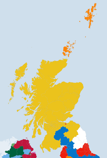Final Scottish results:    #SNP 56  #Labour 1  #Conservatives 1  #LibDems 1   http://t.co/yywY9BbuwQ #GE2015