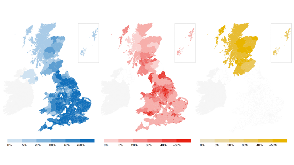 Map Of Uk Votes 2015.Bbc News Graphics On Twitter How Did The Uk Vote Election 2015 In