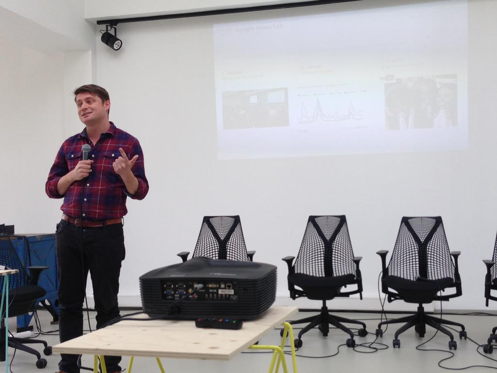 #TechRaking gets a look at @google's News Labs from @mattcooke_uk. Learn more: http://t.co/UC8sNmXgYX http://t.co/wekz11mLd3