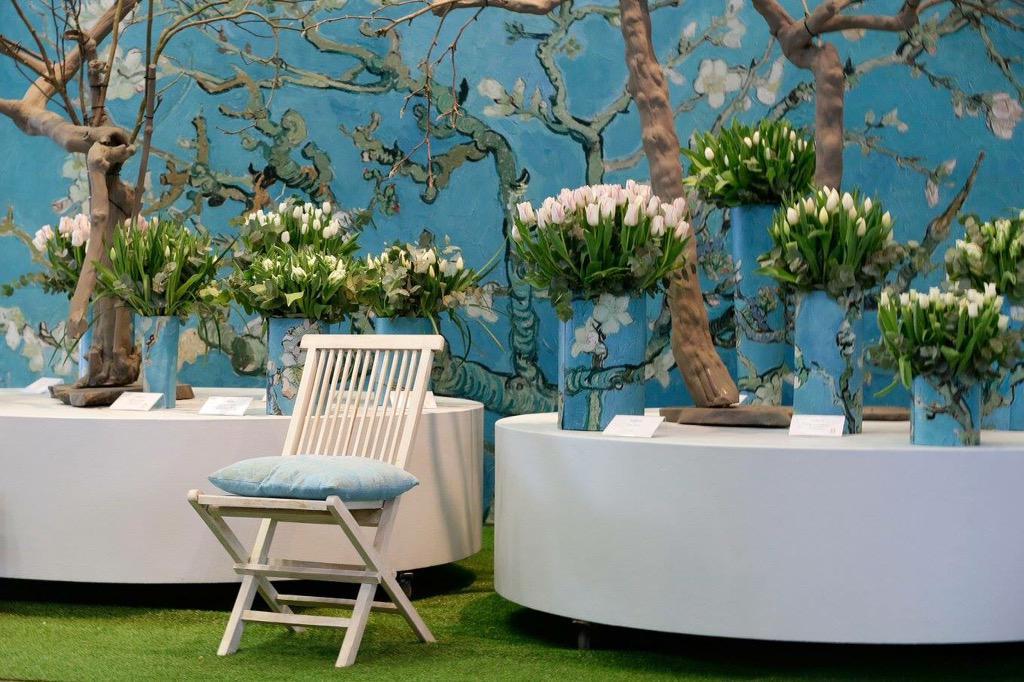 Van Gogh Behang : Van gogh behang slaapkamer in inspirerend foto s van almond