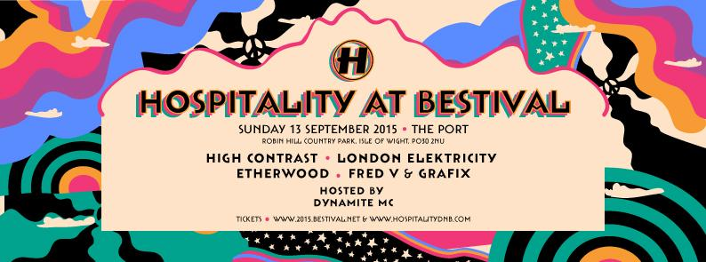 Hospitality takes over the port @Bestival this year! @HighContrast @LondonElek @EtherwoodUK @fredvgrafix @DynamiteMC http://t.co/9iy3U6zBCe