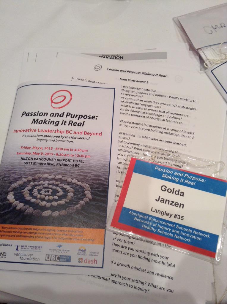#noii2015 @noiiaesn excited to be at the innovative Leadership BC & Beyond Symposium w/ @MrJanzen1984 http://t.co/oyyUDcSDwz