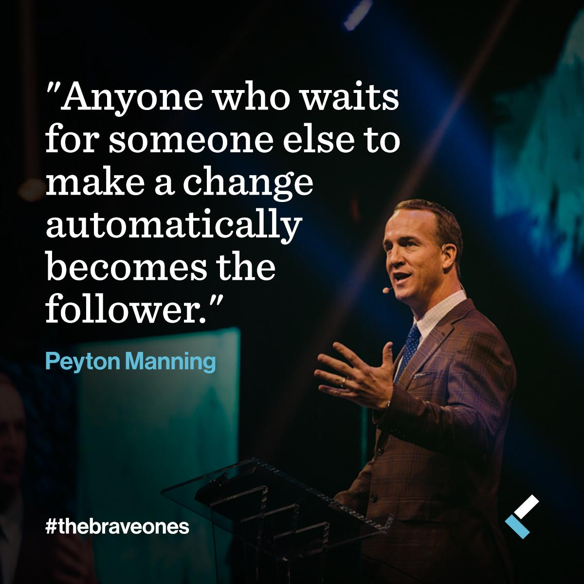 #PeytonManning #thebraveones #Leadercast http://t.co/pH0LTr678y