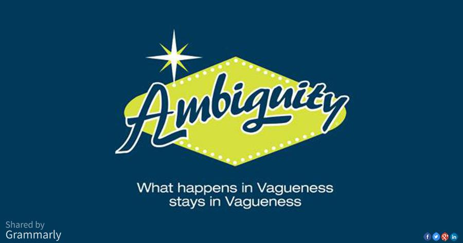 "Grammarly on Twitter: ""What happens in vagueness stays in ..."