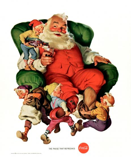 Coca-Cola's history includes none other than Santa Claus. #businesshistory http://t.co/N543BtCJyi http://t.co/uXjVNkKzsL