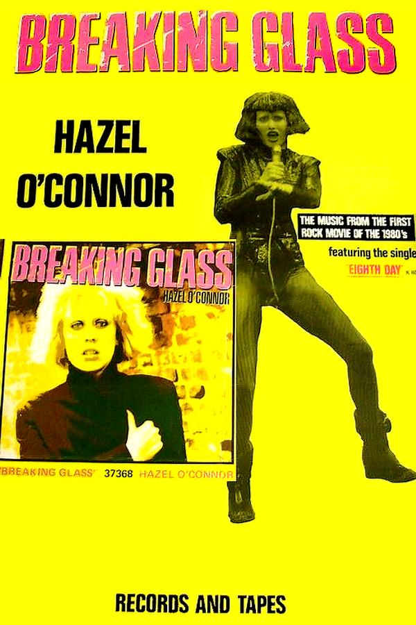 35 yrs ago. Poster for Breaking Glass soundtrack brilliantly produced by the talented Mr Tony Visconti. x http://t.co/5Xuwm44gF5