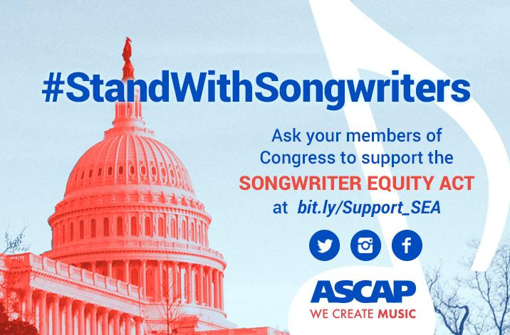 Love music? Please ask Congress to #StandWithSongwriters and support the #SongwriterEquityAct http://t.co/yynWUwModh http://t.co/LzIk6UJtU0
