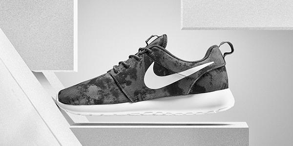 0659894cf63bc Go undercover with the latest men s  Nike  Roshe One