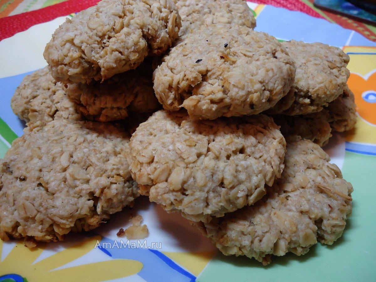 Постное овсяное печенье от юлии высоцкой