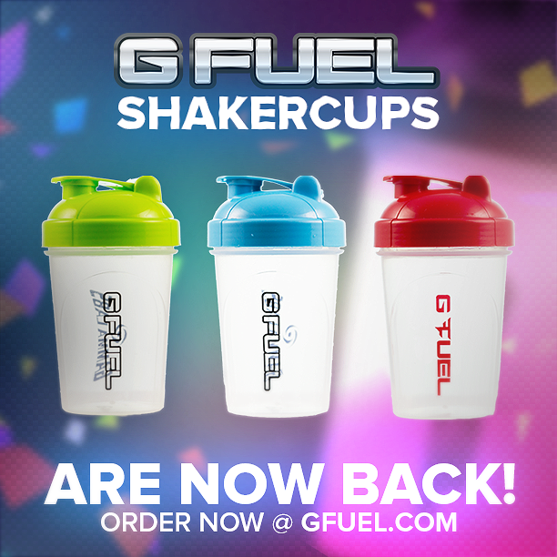 g fuel on twitter shaker cups are back back again http t co
