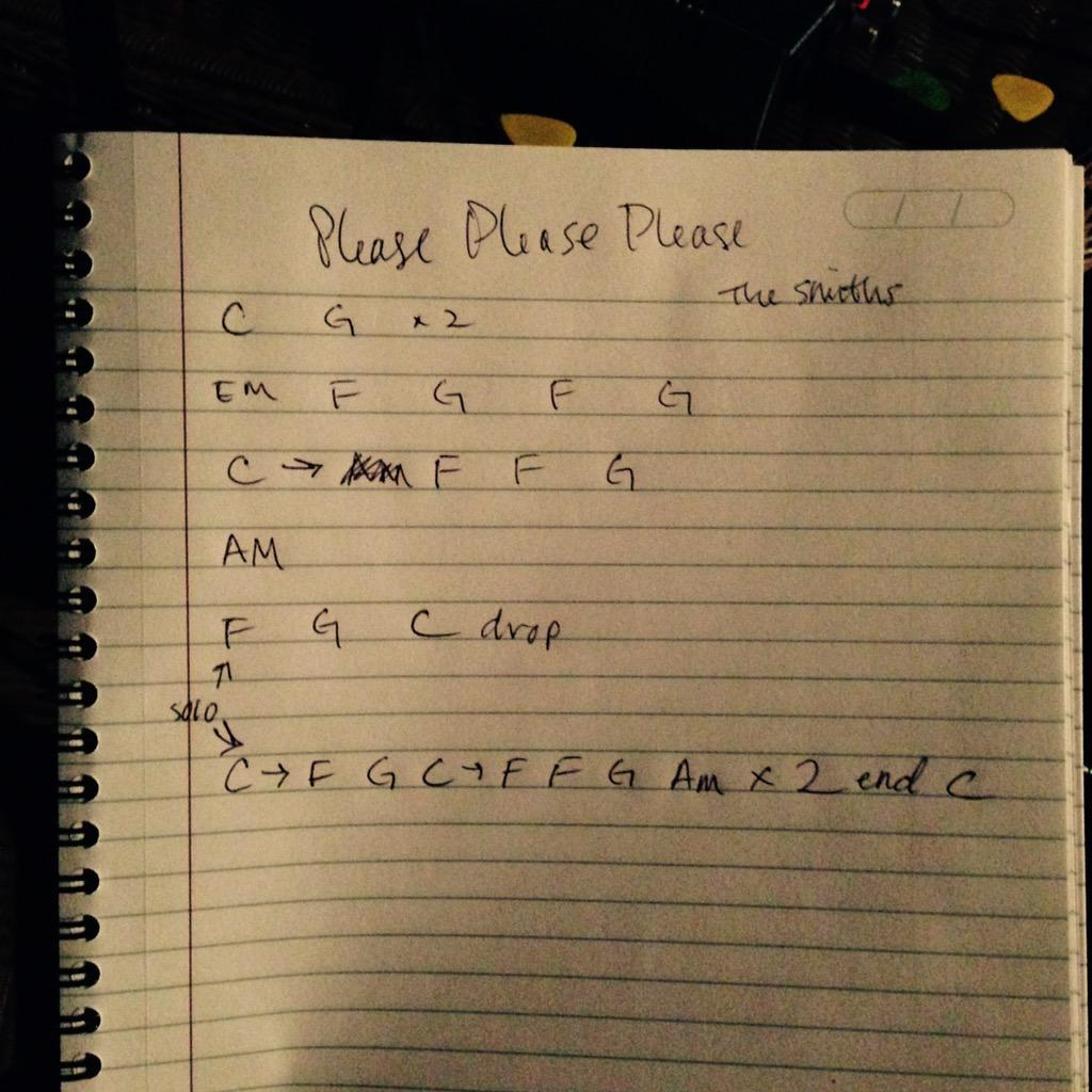 Charlie Sarra On Twitter Chords To Please Please Please Let Me