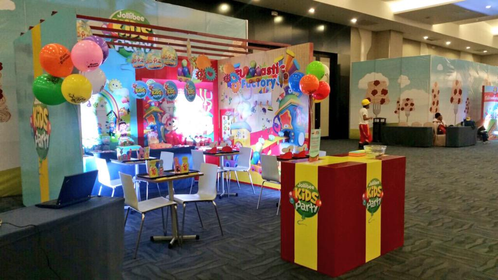 Kids Exhibition Booth : Jollibee on twitter quot visit the kids party booth