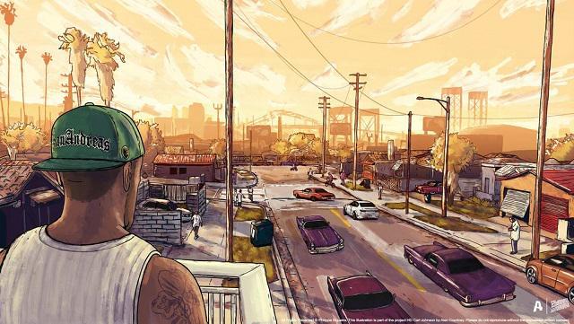 ο χρήστης Rockstar Games στο Twitter Grove Street Life Is