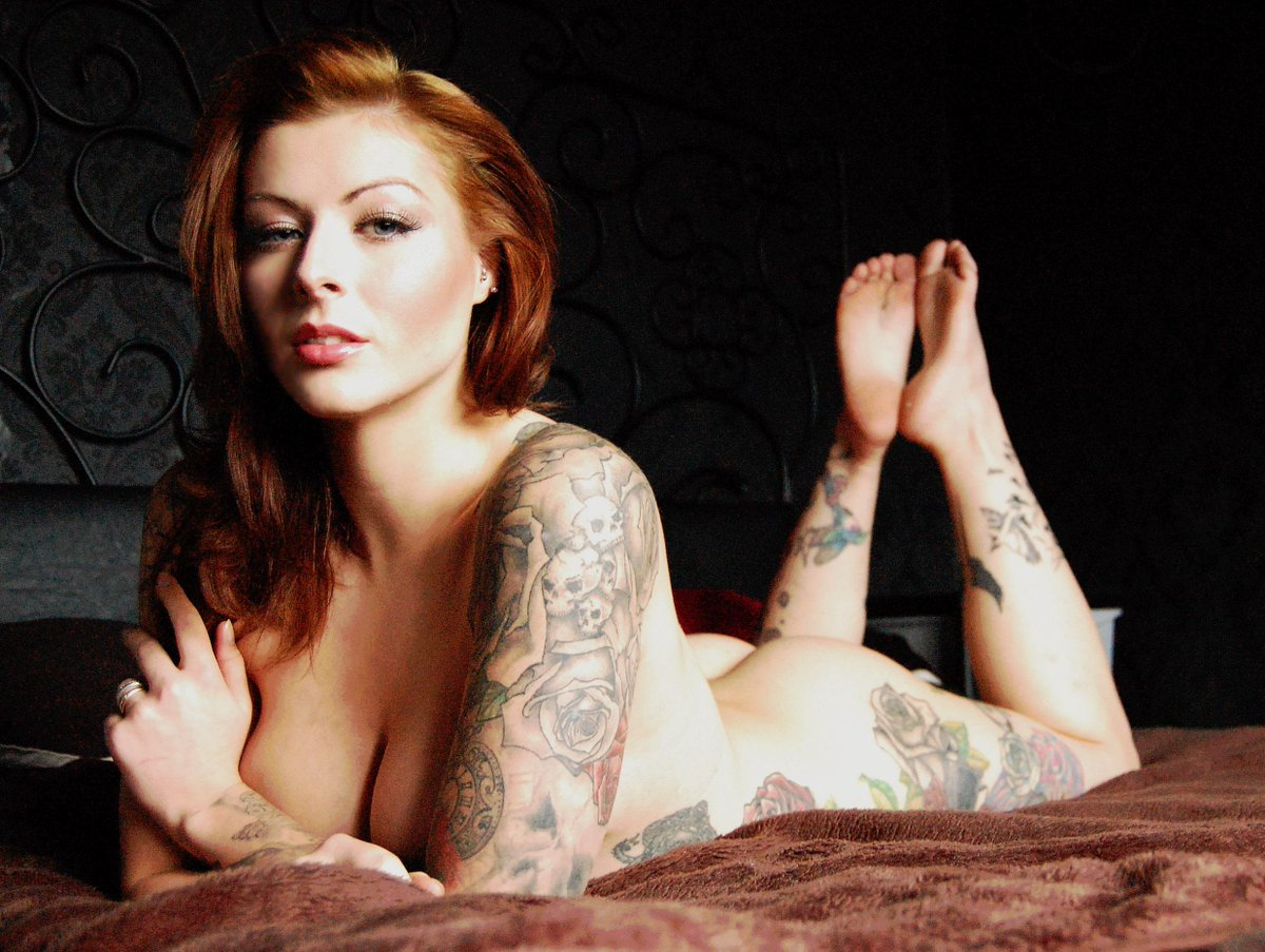 Naked redheads tattooed women have