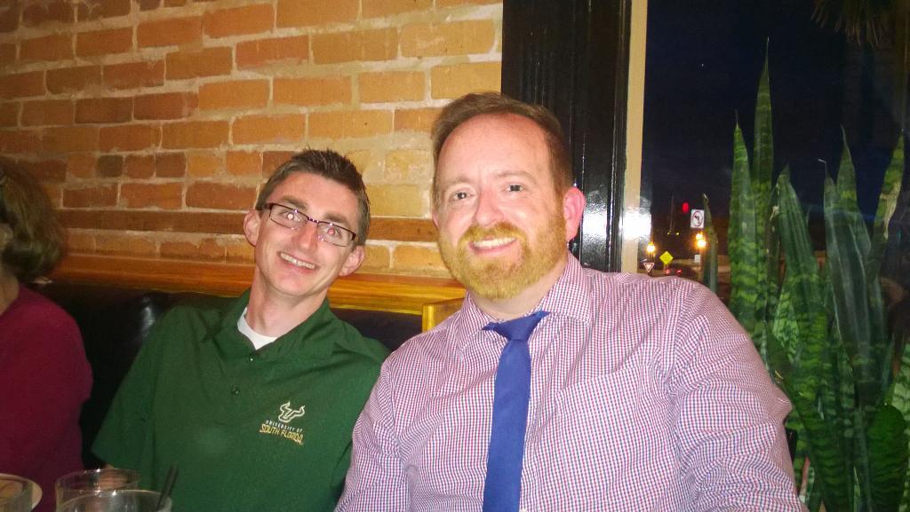Hey @purposefulprincipals and @MathNeil, you should be here! We got @Dustin_Robinson & @MagicPantsJones! #EdCampStAug http://t.co/F4nDvD4X0Q