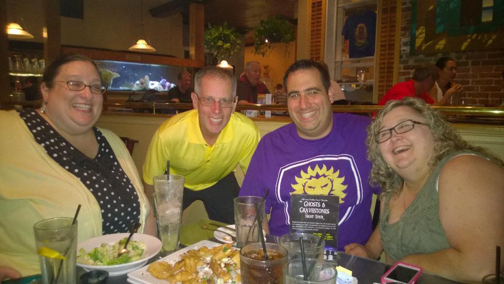@MathNeil - we got @KristinCHarr, we got one of them @cybraryman1, we got @Fernandezc4 ,@rmanlandro! #EdCampStAug http://t.co/wQtNb1JhfS